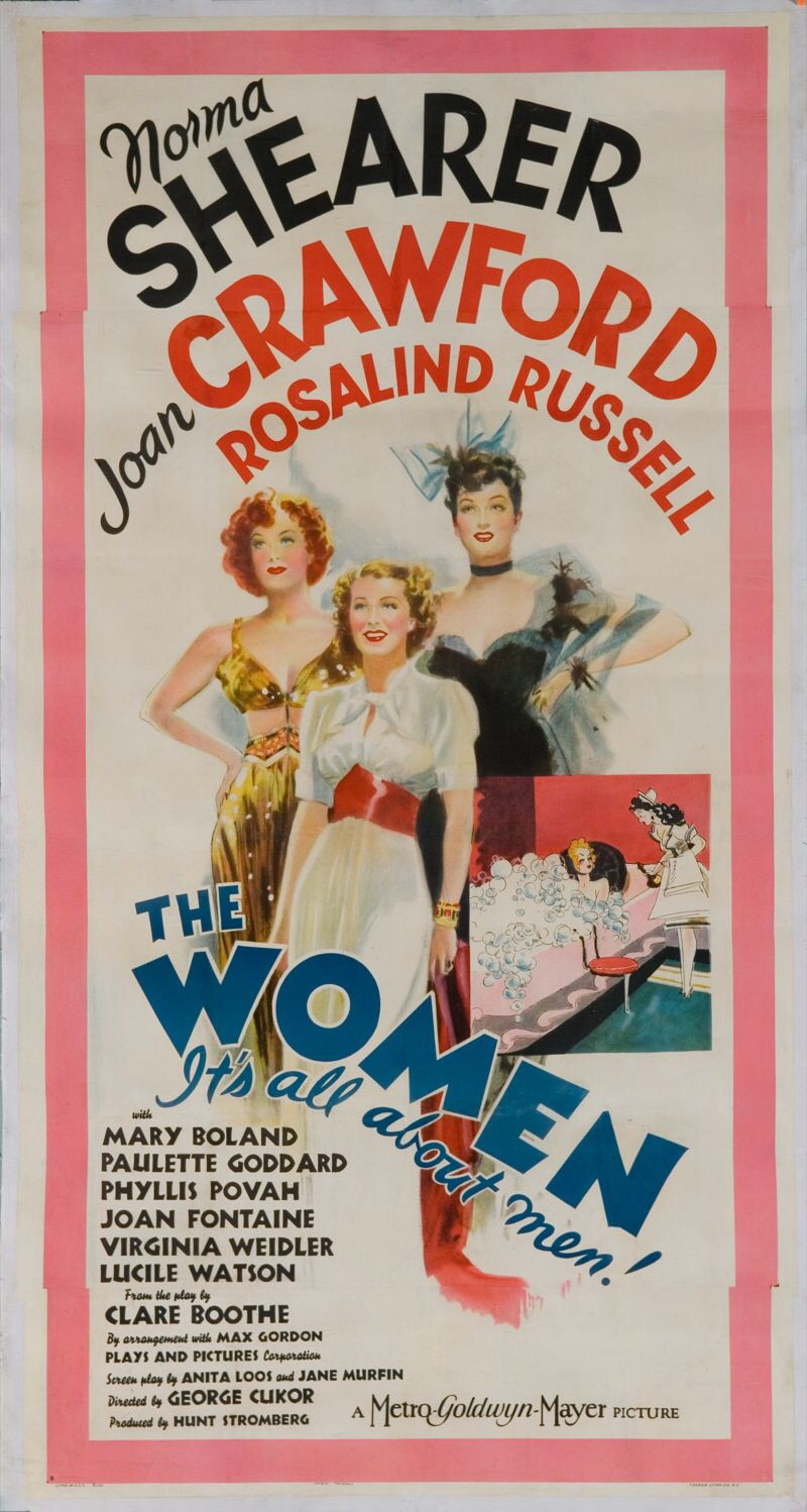 'The Women' 1939 Movie Poster.