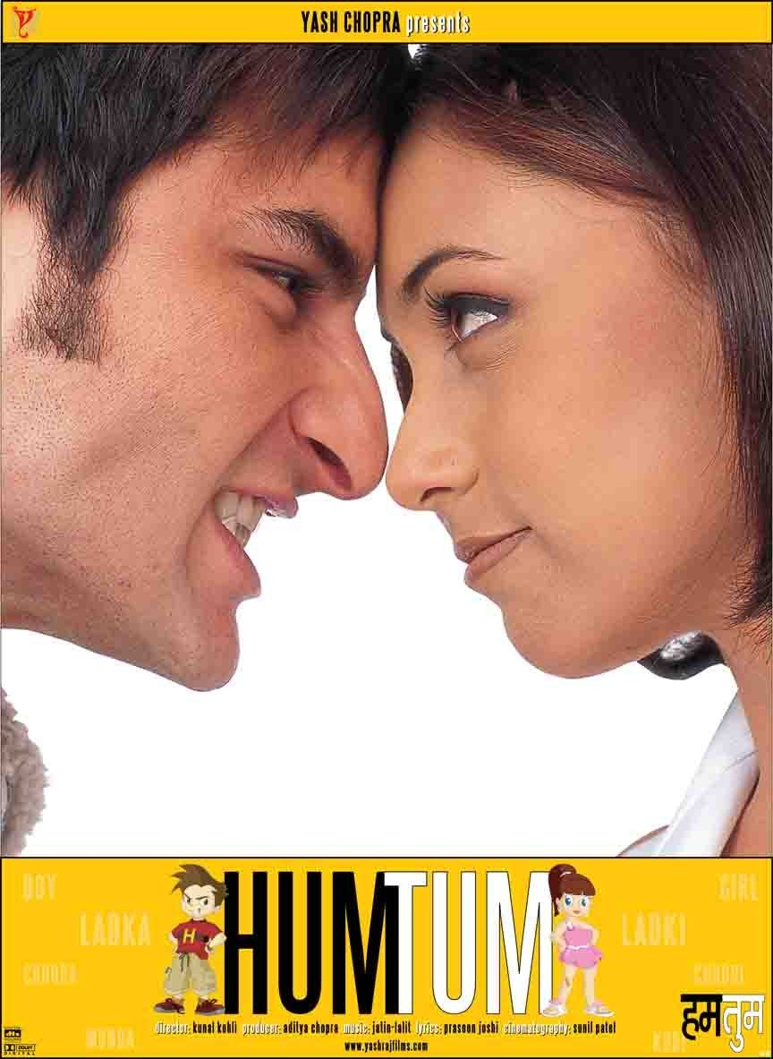 Orginal Poster From The Movie Hum Tum 2004 Good Movies To Watch Bollywood Posters Good Movies