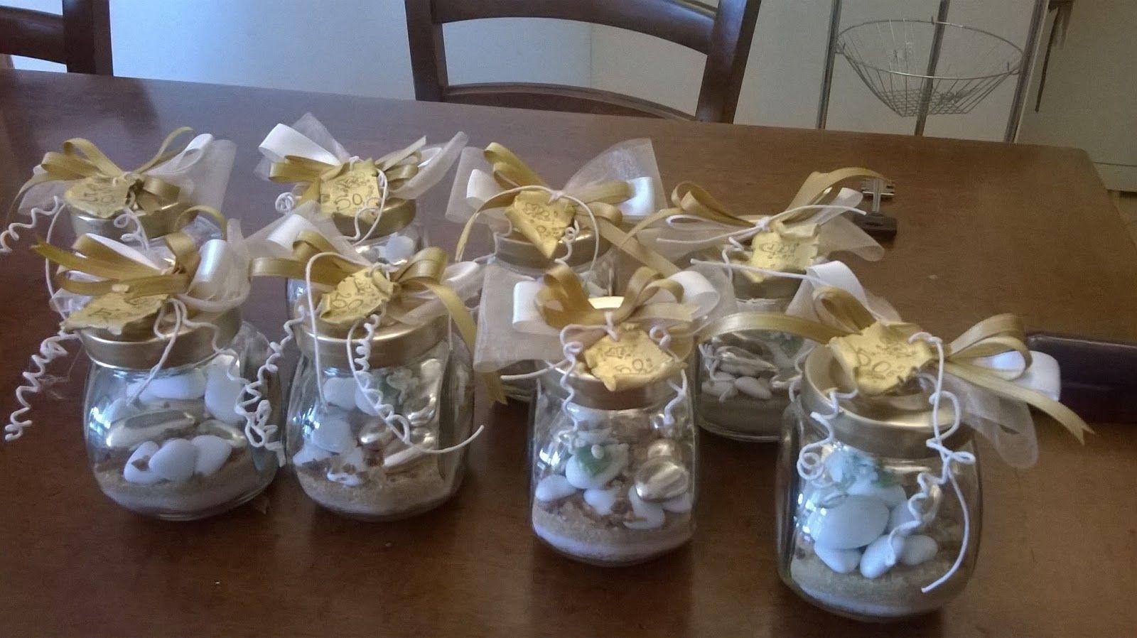 Ipasticcidimanu confetti decorati portaspezie nozze d 39 oro for Idee regalo doors