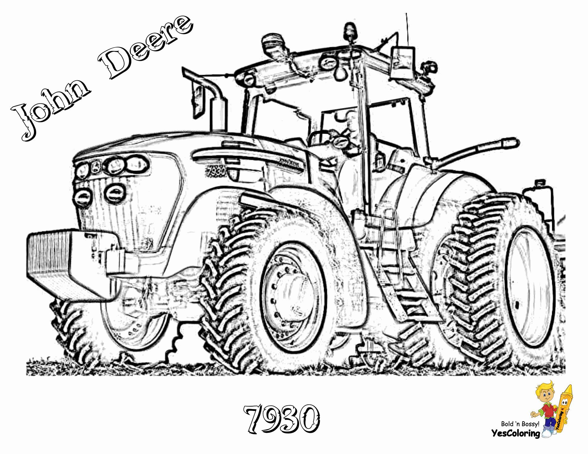 Pin On Gritty Tractor Coloring Pages