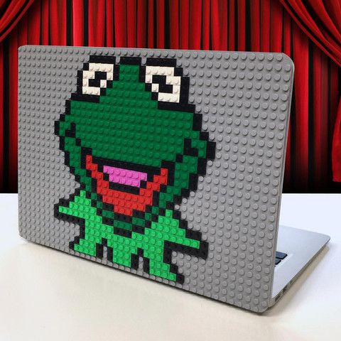 Kermit Macbook Case Macbook Case Lego Pixel Designs Pinterest