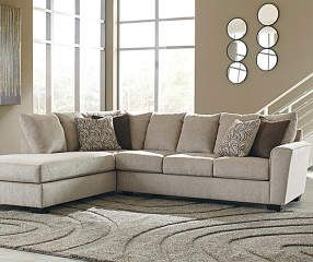 Signature Design by Ashley Ellabury Living Room Sectional at Big