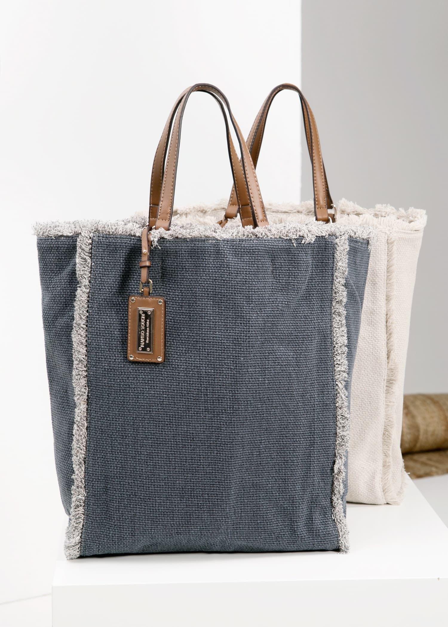 Canvas shopper bag – Woman