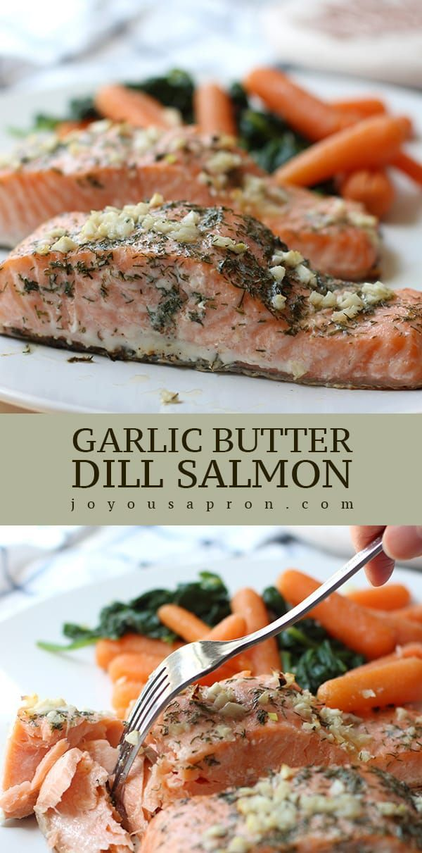 Garlic Butter Dill Salmon -
