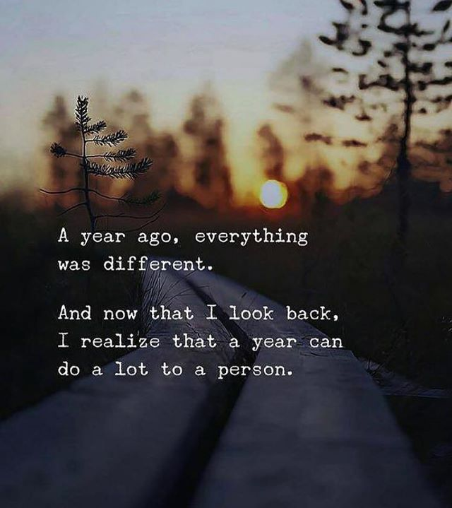 A year ago everything was different.. Soul quotes, Life