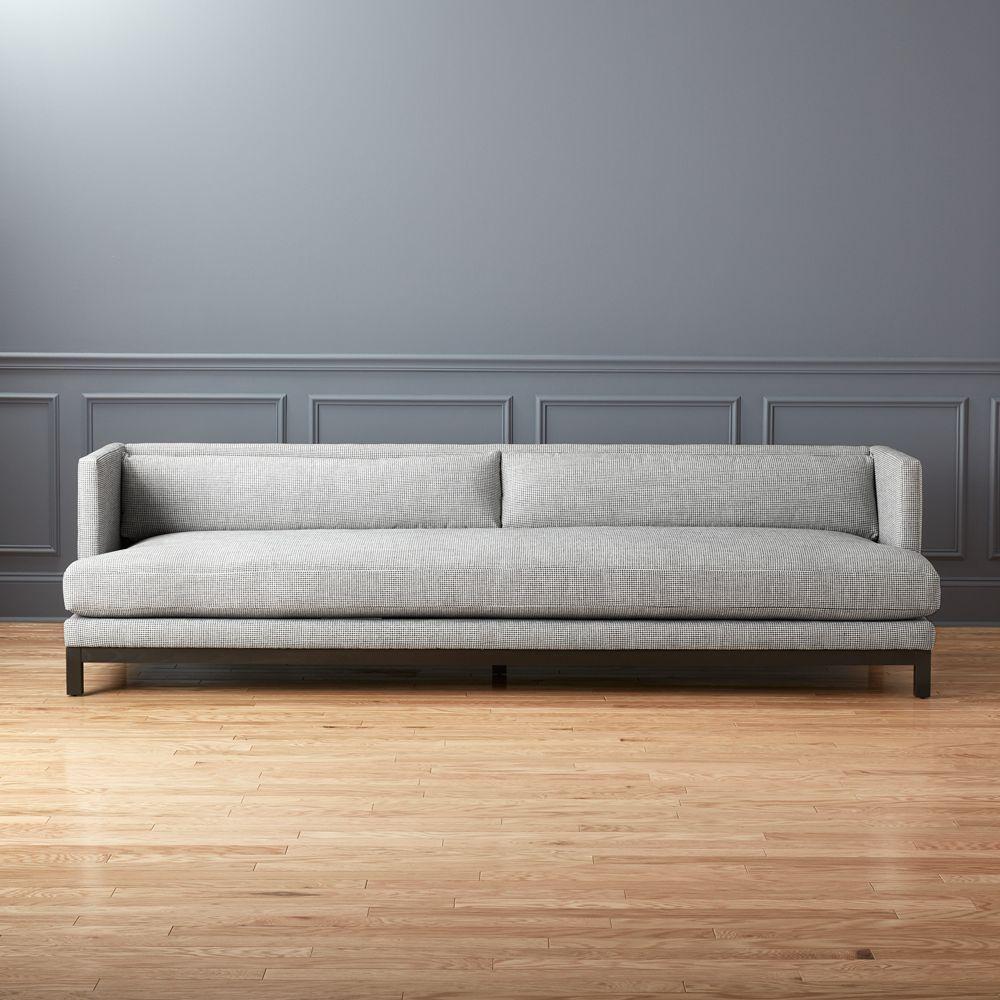Cb2 July Catalog 2018 Brava Houndstooth Sofa In 2019