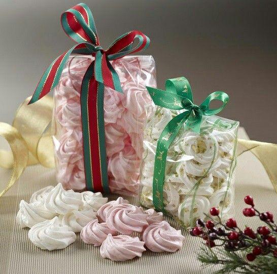Christmas Meringues Strawberry Coconut Www Wugufeng Com Sg