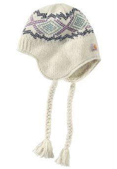 cbbd3329d281a Carhartt Womens Winter White Picket Ear Flap Hat