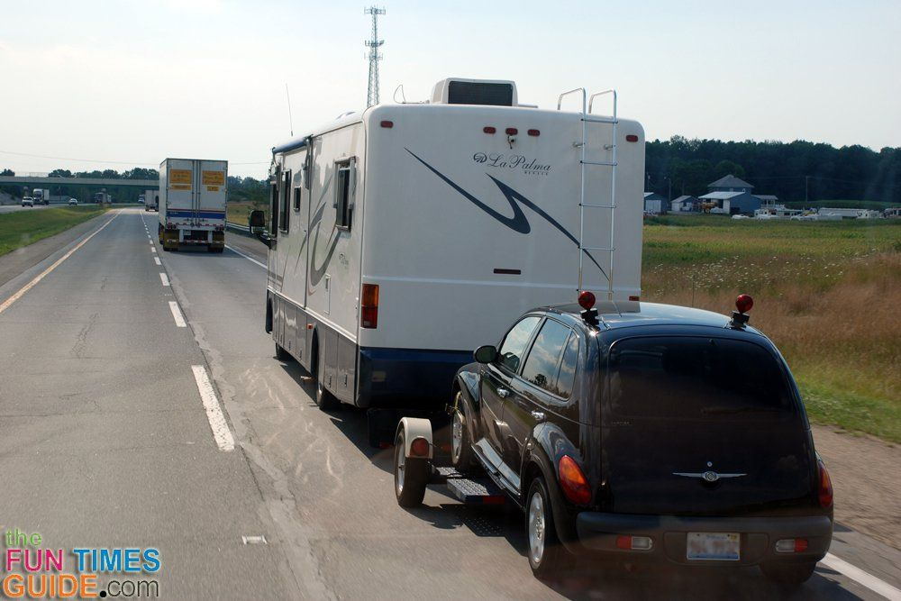 Motorhome Towing Guide Flat Towing vs. Trailering Pros