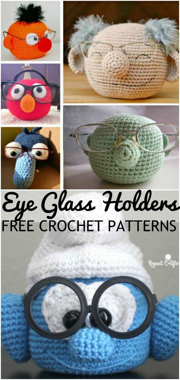 Crochet Eyeglasses Holder Pattern Ideas #cutecrochet
