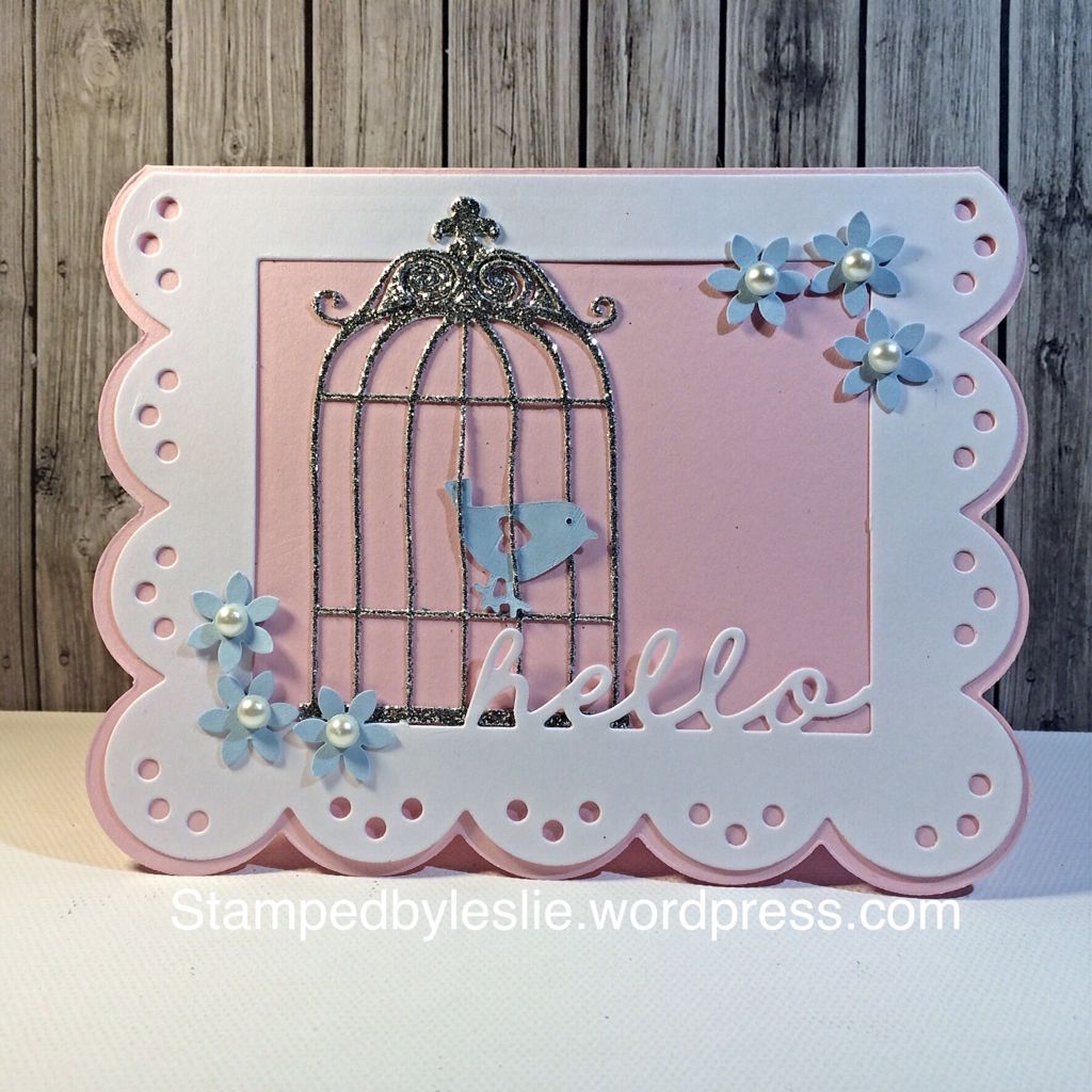 Card made by Leslie Capone using the Stamps of Life stamps/dies