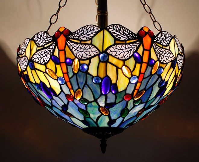 Elqui 16inch dragonfly tiffany lamps ceiling light shade information elqui 16inch dragonfly tiffany lamps ceiling light shade information diameter 16 inch 40 cm material of aloadofball Gallery