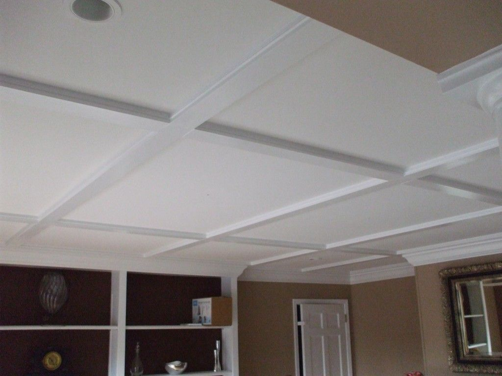 modern circle tiles panels ceiling give wavy home drop in look roman a