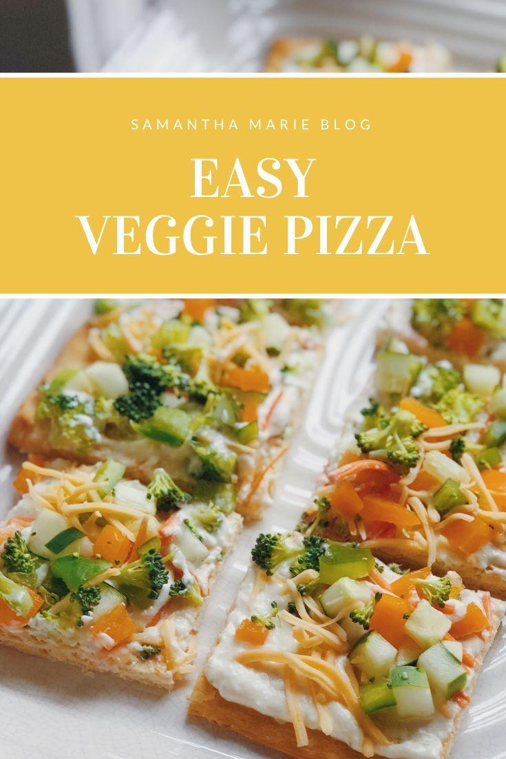 Easy Veggie Pizza images