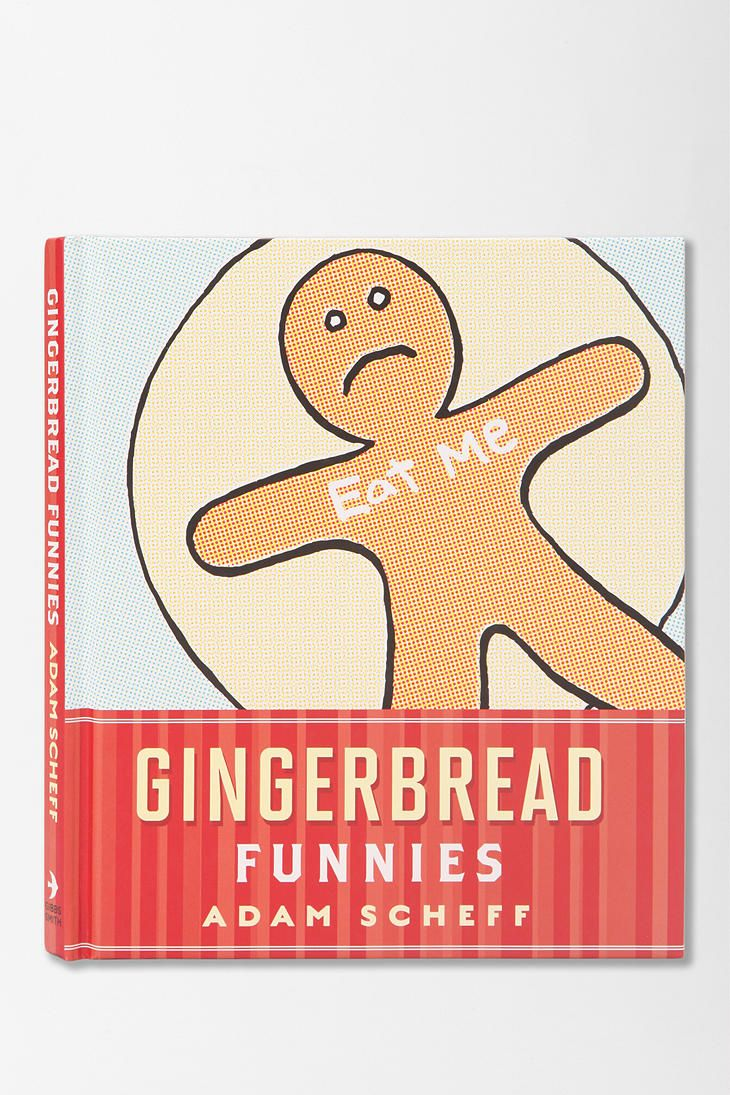 Gingerbread Funnies By Adam Scheff  #UrbanOutfitters
