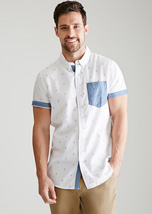 Roll It Up  Top Short Sleeve Button Down Shirts for Spring  1aad293ee