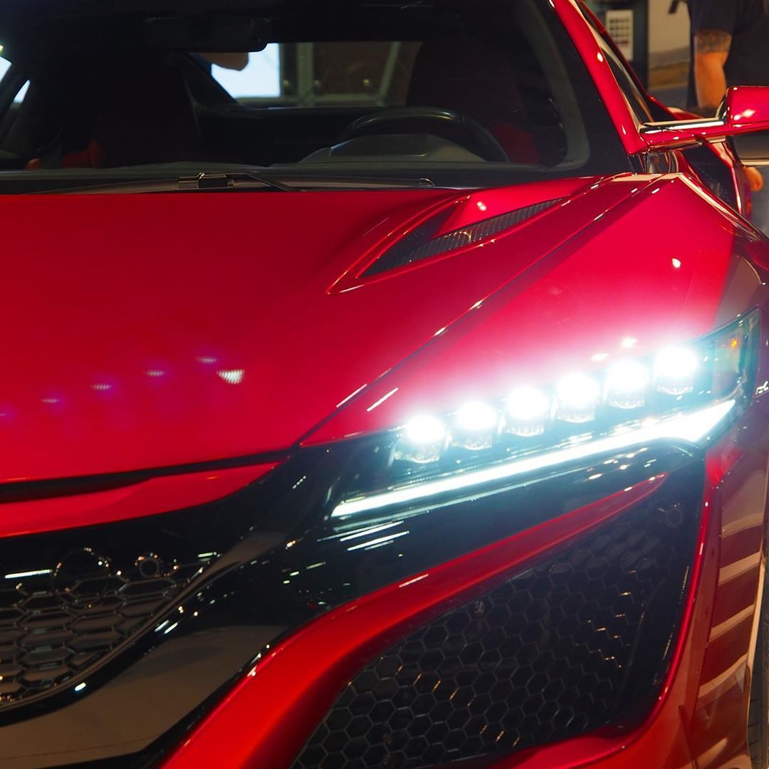 The New Acura NSX • (@mbfanzz)