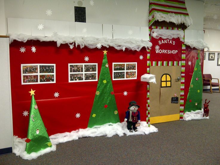 office christmas theme. Classroom Door Idea For Some Safari Theme. Description From Pinterest.com. I · Christmas HallwayChristmas IdeasOffice ChristmasSchool Office Theme