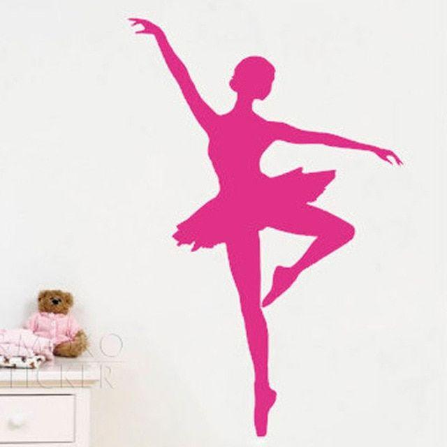 danse Tapisserie murale sticker Ballerine sport