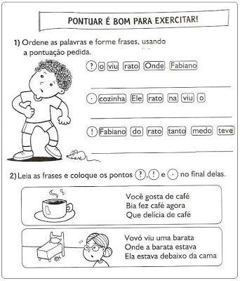 Atividades Português 2º Ano Para Imprimir Navegando Pela Internet