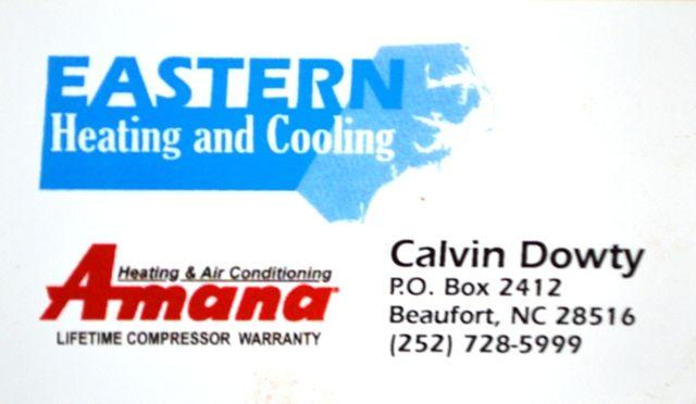 Calvin Dowty Eastern Heating And Cooling Bni Morehead City Nc