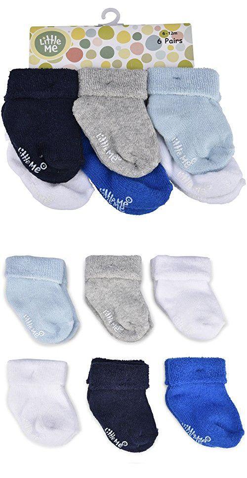 Little Me Baby Boys 6 Pack Socks Sports