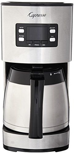 Capresso 435 05 10 Cup Thermal Coffee Maker ST300 Stainless Steel