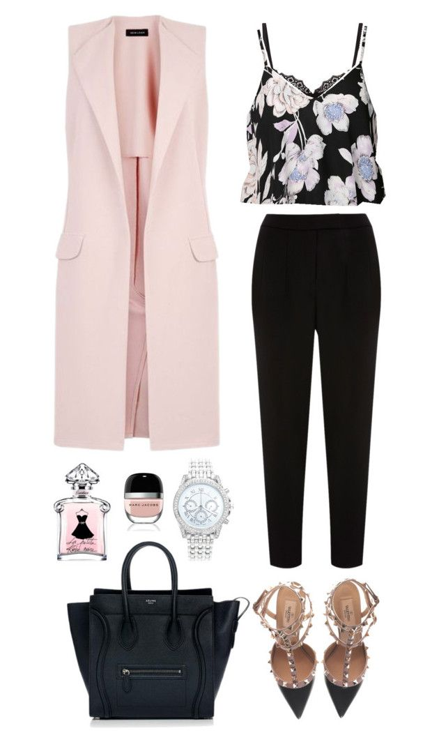 """Rooftop Date"" by lachrodemode on Polyvore featuring mode, Valentino, New Look, Agent Provocateur, Ally Fashion, Coast, CÉLINE, Lane Bryant, Marc Jacobs et valentino"