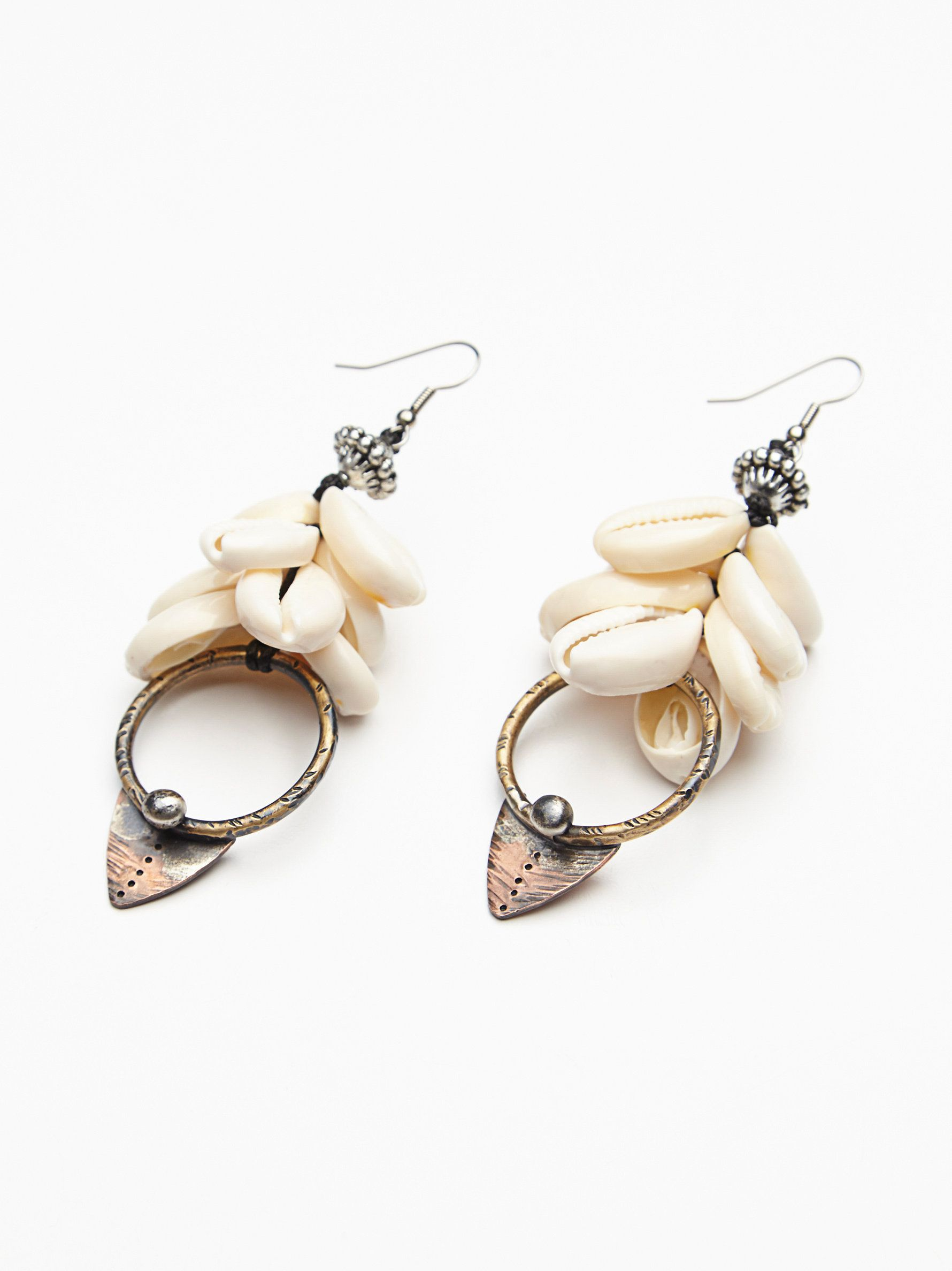 Found by the Sea Shell Earring jewelry love
