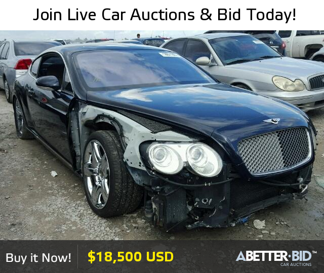 Salvage 2005 BENTLEY ALL MODELS For Sale