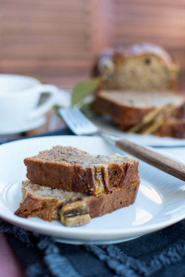 Chlebek Bananowy Banana Bread Kuchnia Agaty Najsmaczniejszy Blog Kulinarny Food Desserts Breakfast