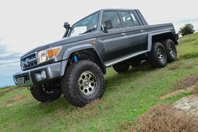 Toyota Land Cruiser 70 series 6x6 | Toyota Land Cruiser