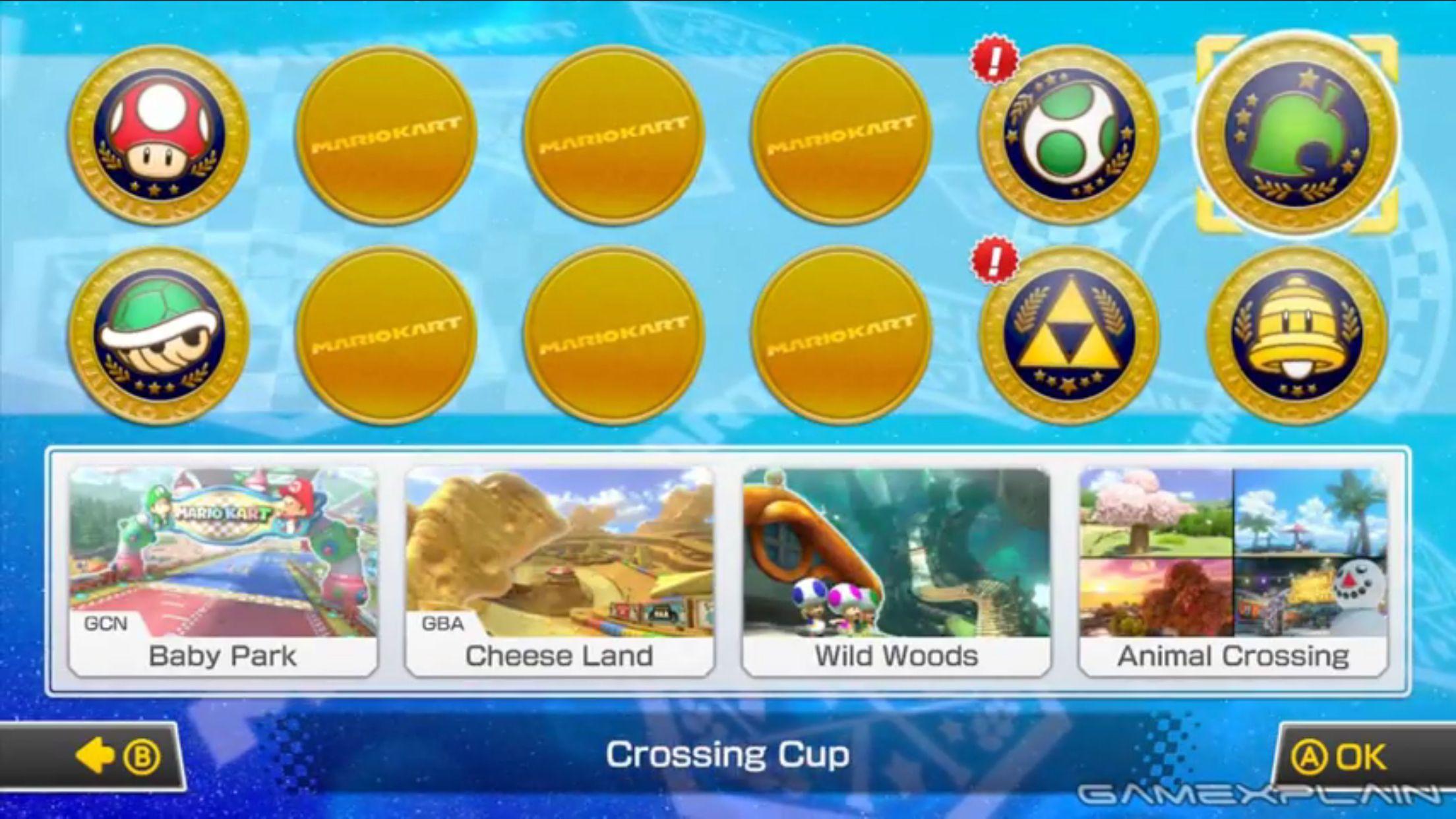 Mario Kart 8 Dlc Crossing Cup Mario Kart 8 Mario Kart Baby Park