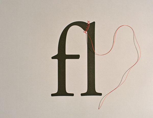 How to Create a Ligature: String  By David Schwen    $20