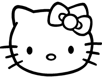 Kleurplaten Hello Kitty Halloween.Klik Hier Om De Hello Kitty Kleurplaat Te Downloaden