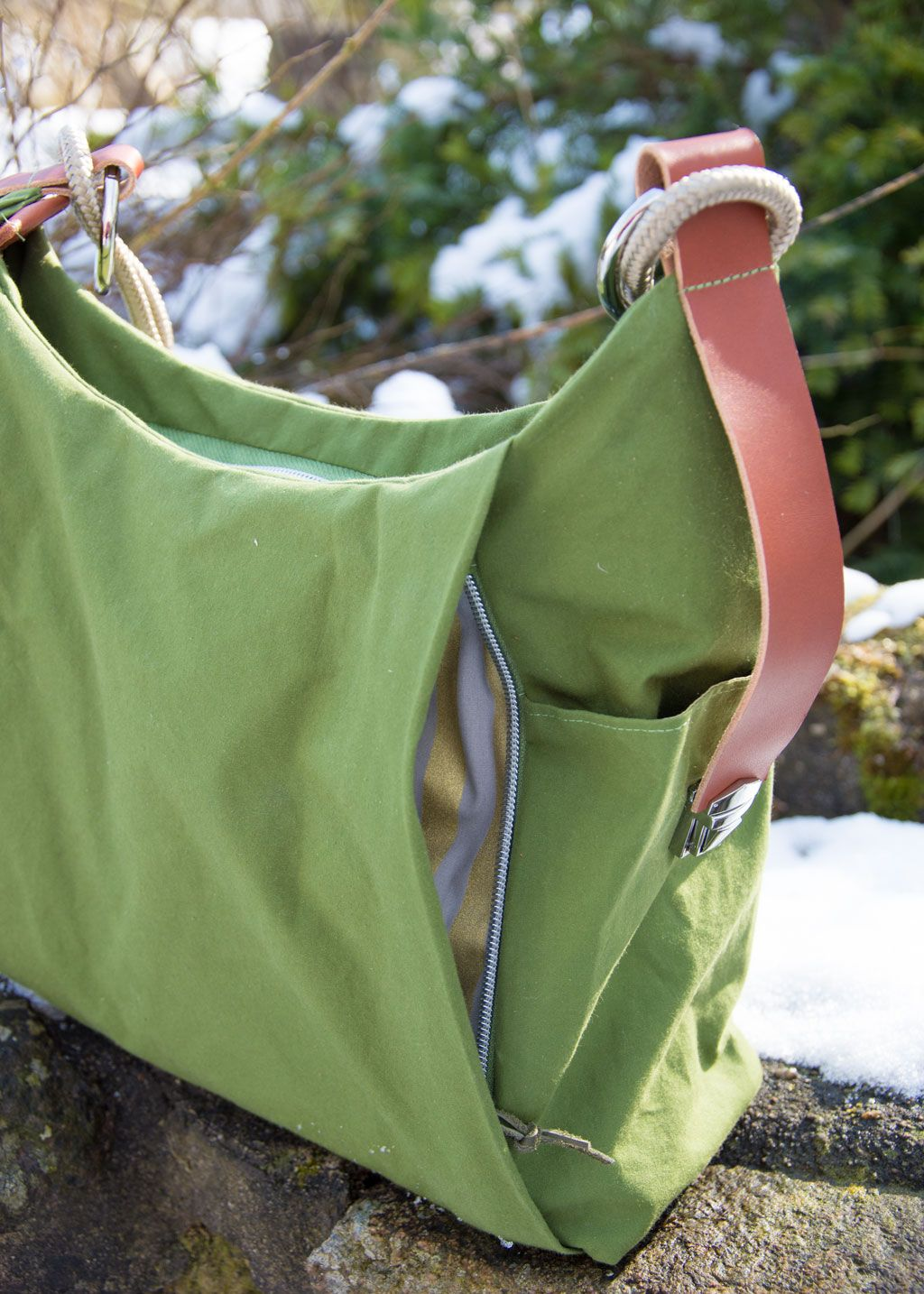 the perfect match - Tasche Dany und Oilskin - kreamino
