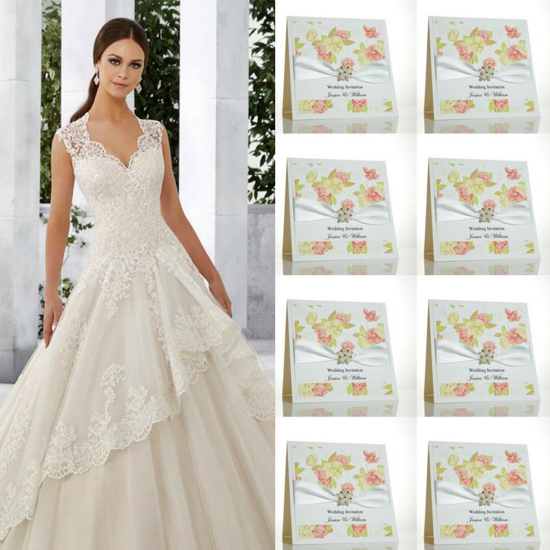Floral Wedding Invitations.