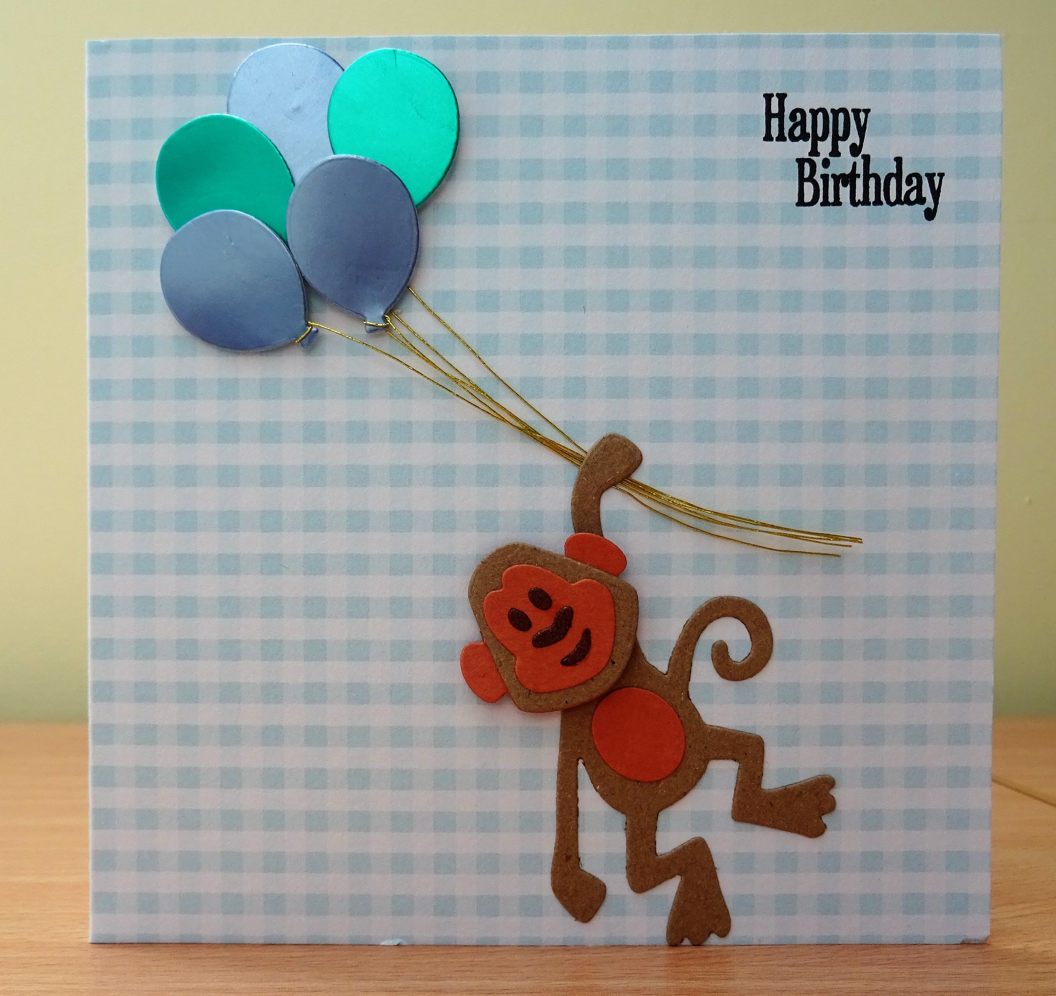 Birthday Card Marianne Collectables Monkey Die To Purchase My