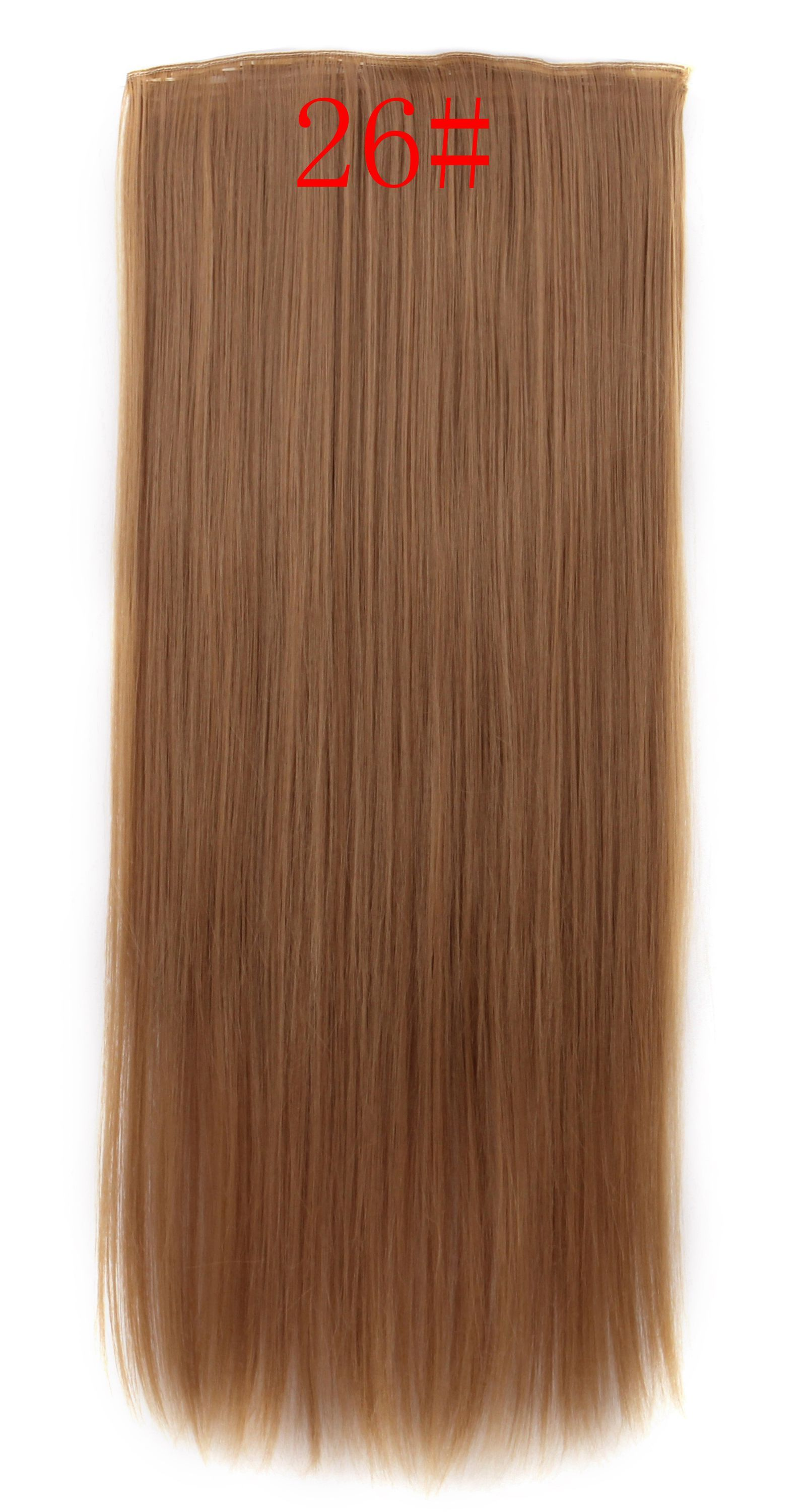 Luxury Clip On Colored Hair Extensions