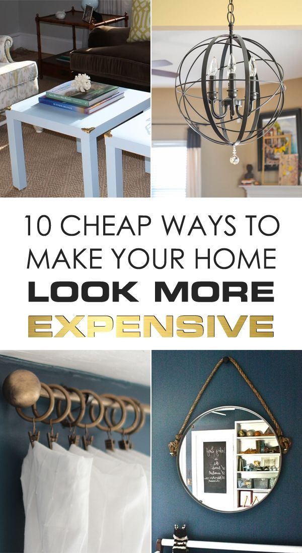 10 of the simplest ways to make your home look more expensive!