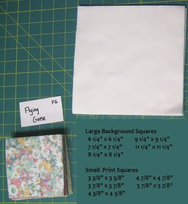 Summer Solstice Quilt-A-Long - Flying Geese