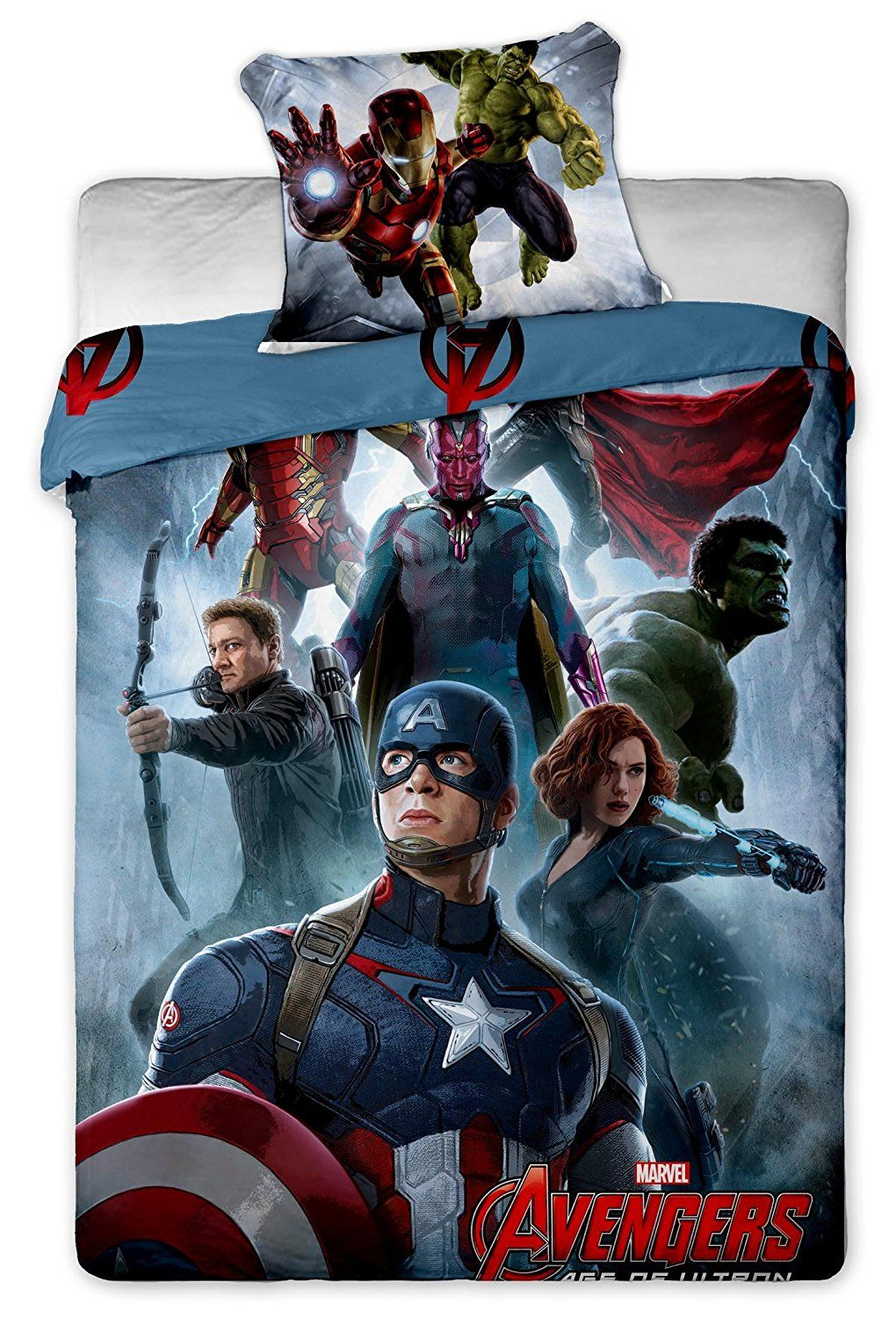Amazon Bettdecken 200 X 200 Bettwäsche Avengers Captain America Hulk Thor Марвел Die