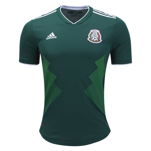 Mexico 2018 Authentic Home Jersey By Adidas Worldsoccershop Com 2018 Fifa Worldcup Kits At Worl Mexico National Team Jersey Soccer Jersey World Soccer Shop