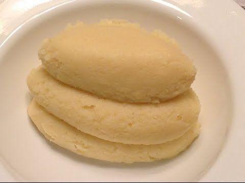 How To Prepare Semo/Semolina fufu (Nigerian food) - YouTube