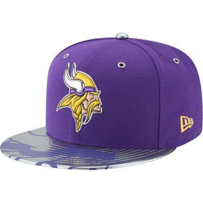 172bd16c2ca Minnesota Vikings New Era NFL Spotlight 59FIFTY Fitted Hat - Purple ...
