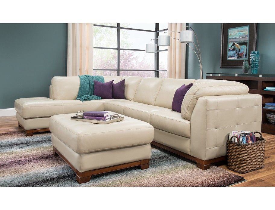 Slumberland | Brooklyn Collection   Taupe Left Chaise Sectional