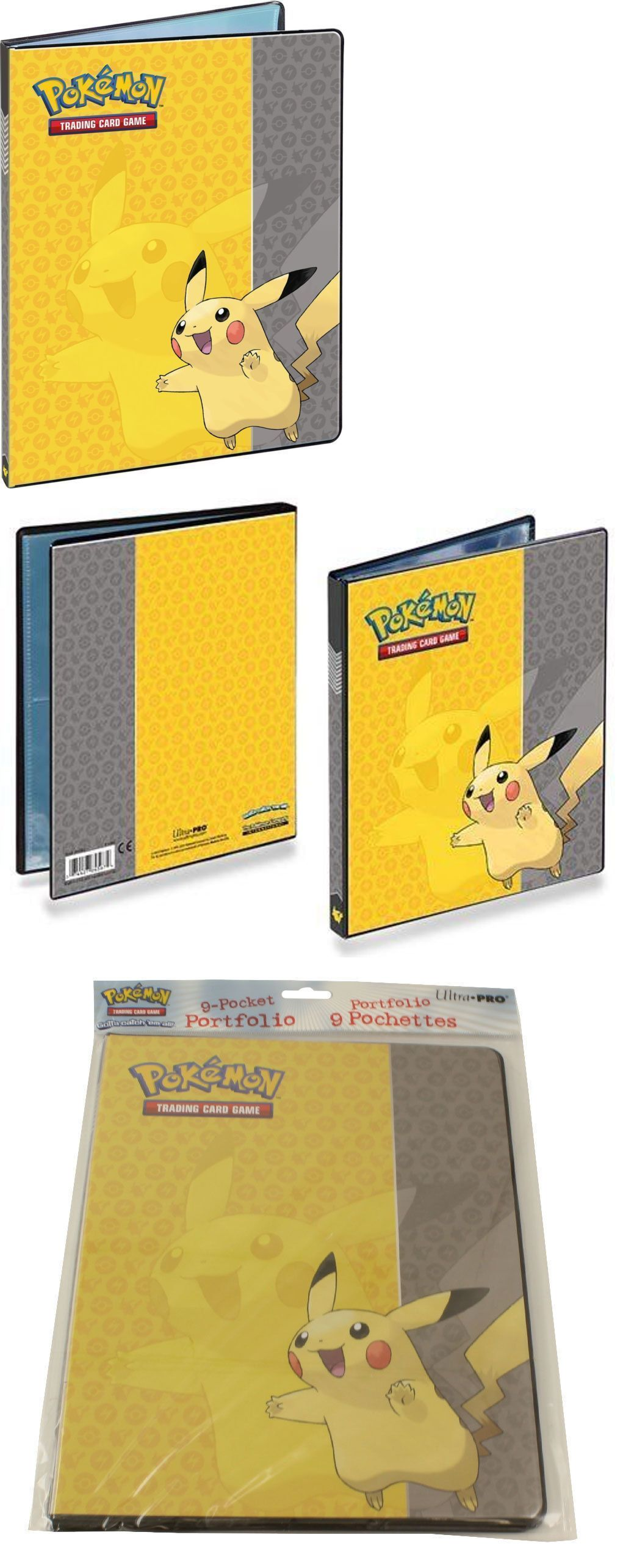 Pokemon 9 pocket portfolio album Pikachu binder 90 to 180