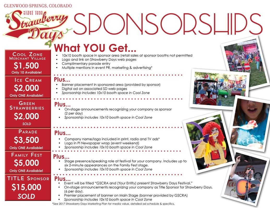 Sponsorship Level Ideas Sponsorship Levels Sponsorship Letter Pta Fundraising