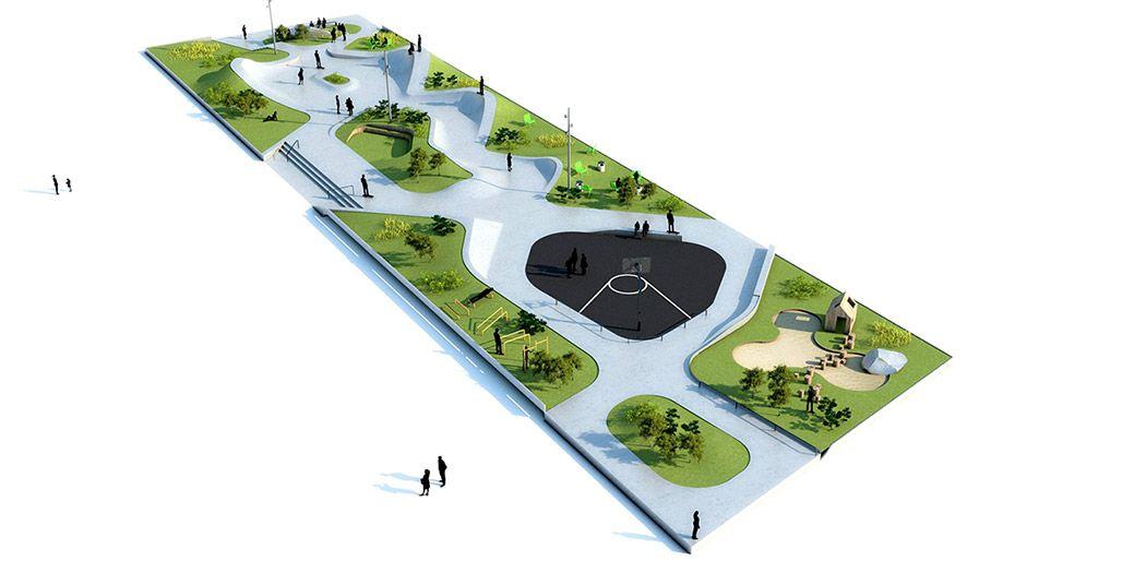 Lemvig Skatepark By EFFEKT 20 Landscape Architecture