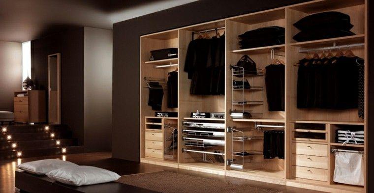 Vestidores grandes y armarios empotrados - 50 ideas